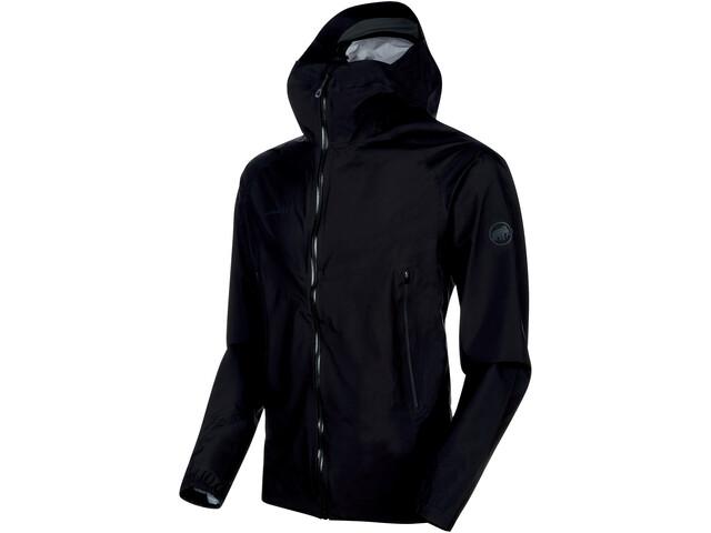 Mammut Masao Light HS Hooded Jacket Herre black-phantom